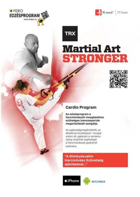 TRX Martial Art Stronger –  edzésprogram harcművészeknek