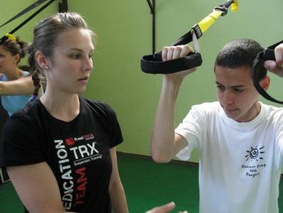 TRX bemutató edzés Jászboldogházán